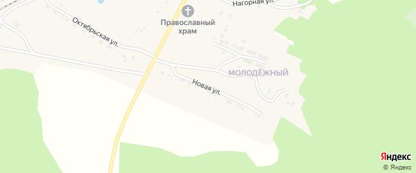 Новая улица на карте поселка Челутая (3 км) с номерами домов