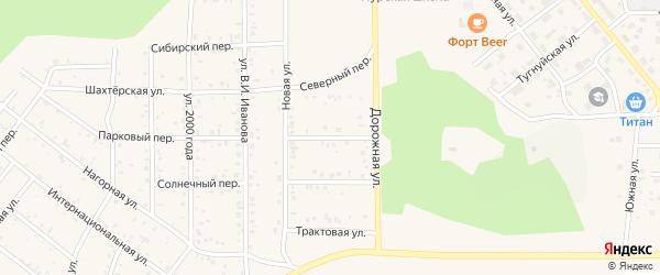 Байкальская улица на карте поселка Сагана-Нура с номерами домов