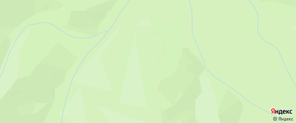 Карта поселка Таловки в Бурятии с улицами и номерами домов