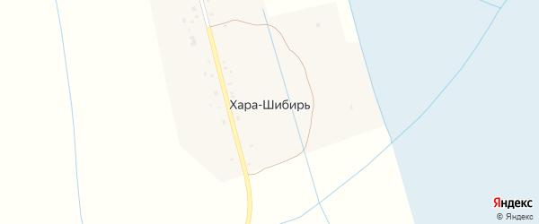 Улица Хара-Шибирь на карте улуса Хара-Шибирь с номерами домов