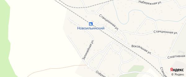 Залинейная улица на карте станции Кижа с номерами домов