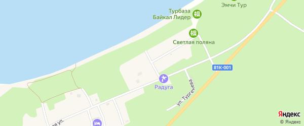Молодежная улица на карте села Максимихи с номерами домов