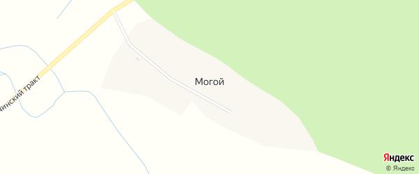 Центральная улица на карте села Могого с номерами домов