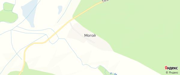 Карта села Могого в Бурятии с улицами и номерами домов