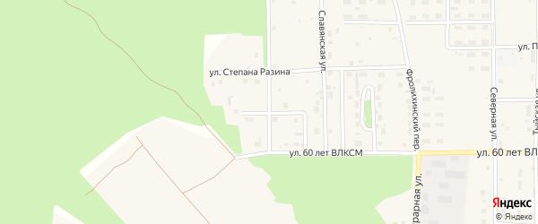 Александровская улица на карте Северобайкальска с номерами домов