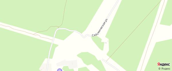 Сейсмическая улица на карте Северобайкальска с номерами домов