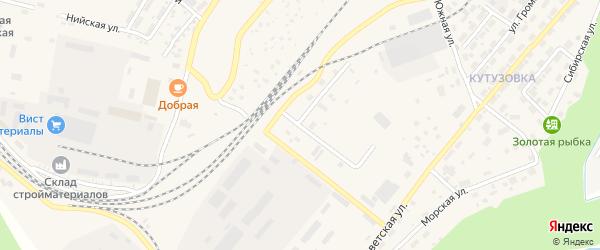 Майский переулок на карте Северобайкальска с номерами домов
