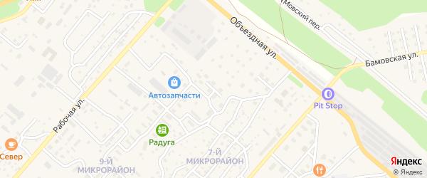 Заводская улица на карте Северобайкальска с номерами домов
