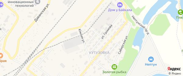 Уральская улица на карте Северобайкальска с номерами домов