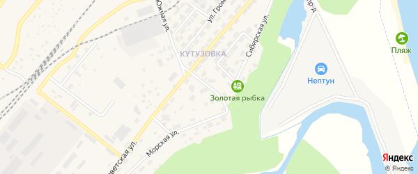 Родниковый переулок на карте Северобайкальска с номерами домов