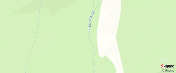 Местность Ехэ-Горхон на карте Кижингинского района с номерами домов