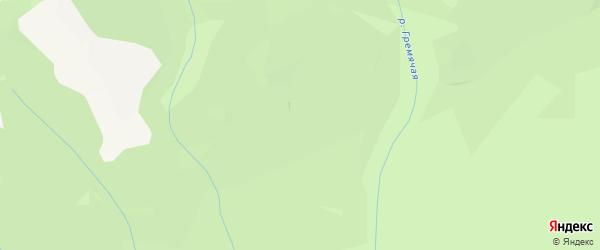 Карта заимки Огноли в Бурятии с улицами и номерами домов