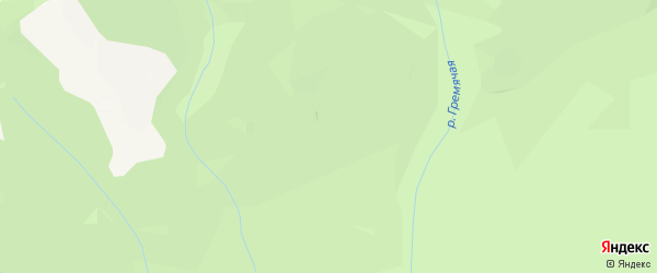Карта заимки Амарана в Бурятии с улицами и номерами домов