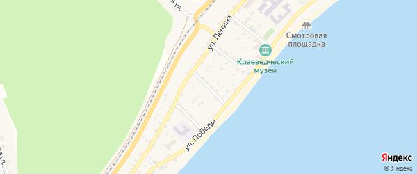 Байкальский переулок на карте поселка Нижнеангарска с номерами домов