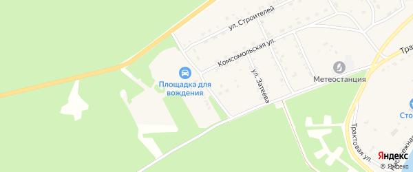 Иркутская улица на карте села Баргузина с номерами домов