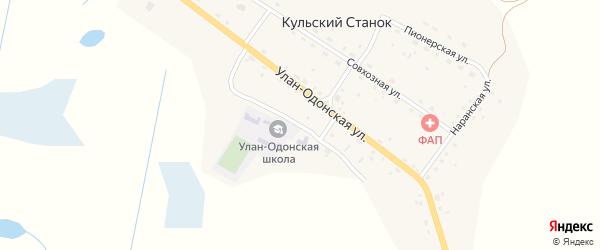 Школьная улица на карте улуса Кульского Станка с номерами домов