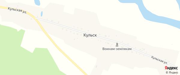 Кульская улица на карте села Кульска с номерами домов