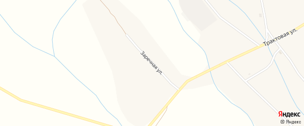 Заречная улица на карте села Уро с номерами домов