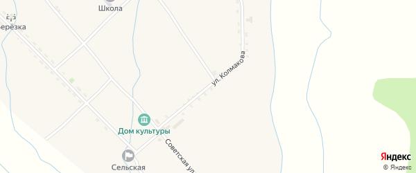 Улица Колмакова на карте села Уро с номерами домов