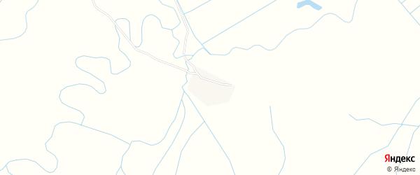 Местность Сагаан-Хунды на карте села Кижинги с номерами домов