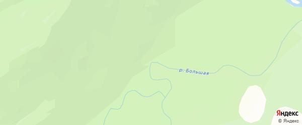 Большая Черемшанная местность на карте местечка Большей Черемшанной с номерами домов