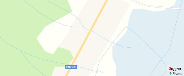 Сосновая улица на карте улуса Ярикта с номерами домов