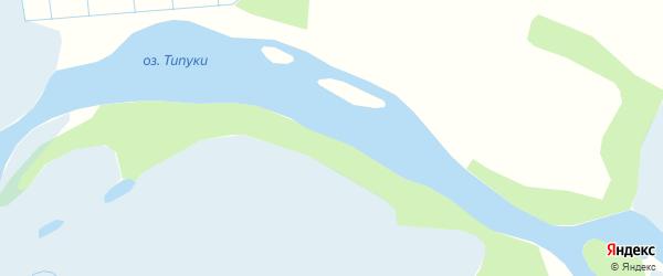 Карта местечка Типуки в Бурятии с улицами и номерами домов