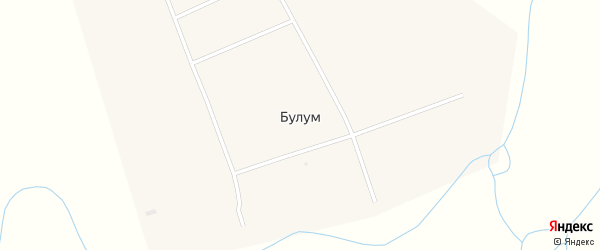 Участок Гурт Тором на карте улуса Булум с номерами домов