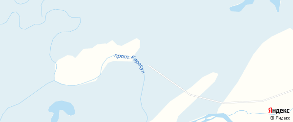 Карта заимки СТФ в Бурятии с улицами и номерами домов