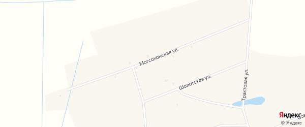 Могсохонская улица на карте улуса Могсохон с номерами домов