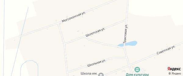 Шолотская улица на карте улуса Могсохон с номерами домов