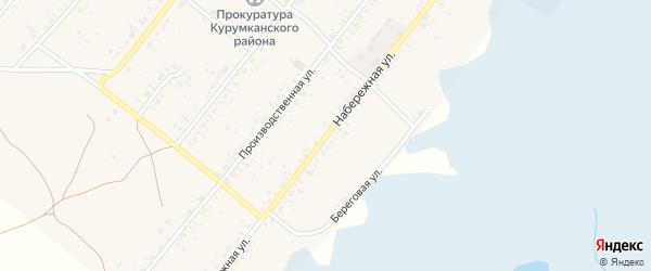 Набережная улица на карте улуса Барагхан с номерами домов