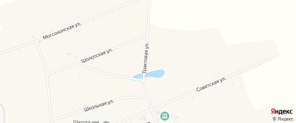Трактовая улица на карте улуса Могсохон с номерами домов