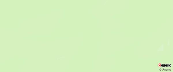 Карта заимки Ганги в Бурятии с улицами и номерами домов