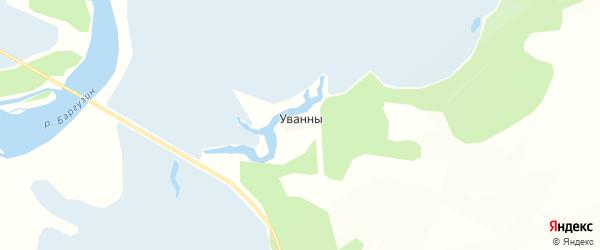 Карта заимки Уртонхоя в Бурятии с улицами и номерами домов