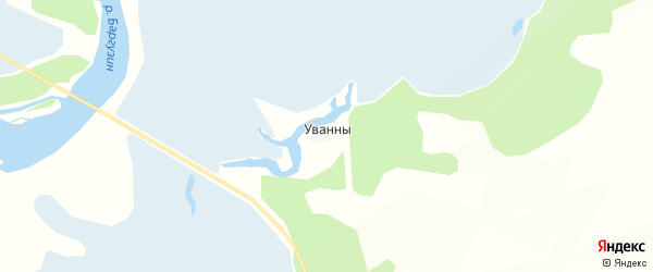 Карта заимки Тахинака в Бурятии с улицами и номерами домов