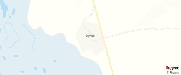 Карта улуса Булаг в Бурятии с улицами и номерами домов