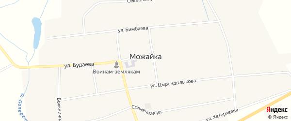 Восточная улица на карте села Можайка с номерами домов