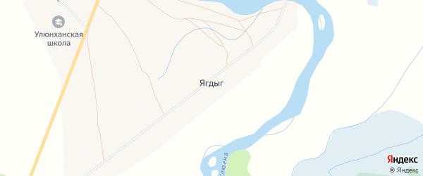 Карта улуса Ягдыг в Бурятии с улицами и номерами домов