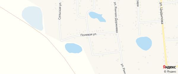Улан-Еравнинская улица на карте Сосново-озерского села с номерами домов