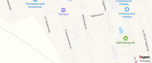 Домнинская улица на карте Сосново-озерского села с номерами домов