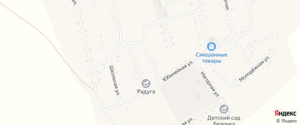 Мелиоративный переулок на карте Сосново-озерского села с номерами домов