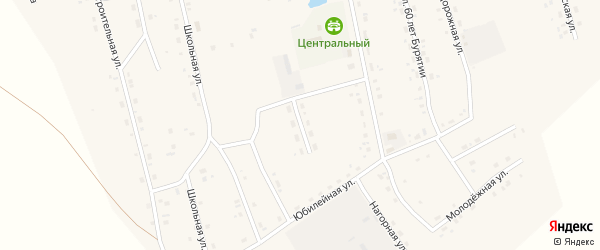 Мелиоративная улица на карте Сосново-озерского села с номерами домов