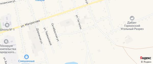 Совхозный переулок на карте Сосново-озерского села с номерами домов