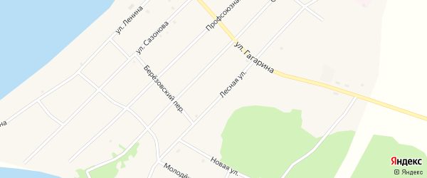 Маслозаводская улица на карте поселка Гунда с номерами домов