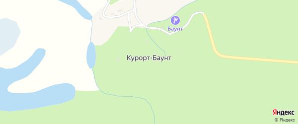 Ключевая улица на карте поселка Курорта Баунта с номерами домов