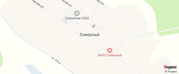 Южная улица на карте Северного поселка с номерами домов