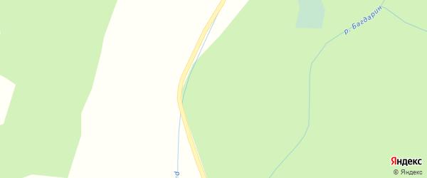 Улица Курчатова на карте Северного поселка с номерами домов