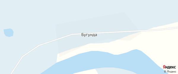 Речная улица на карте поселка Бугунда с номерами домов
