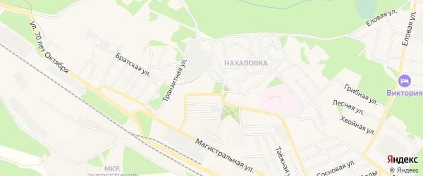 Карта поселка Таксимо в Бурятии с улицами и номерами домов